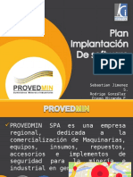 Plan de Implementación de software