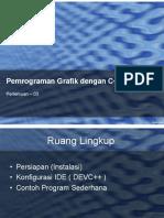 Pertemuan-03-Graphics in C++