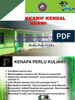 Stai Ma'Arif Kendal Ngawi