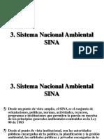SINA (Sistema Nacional Ambiental)