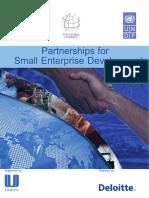 Partnerships for Small Enterprise Development UNDP