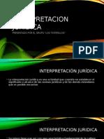 INTERPRETACION JURIDICA