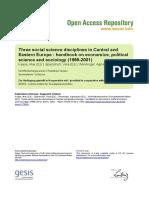 Ssoar-2002-Kaase Et Al-three Social Science Disciplines In