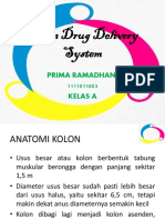 PRIMA RAMADHANI 1111011003 - Colon Drug Delivery System