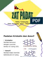 Zat-Padat