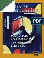 administracion y planificacion educativa