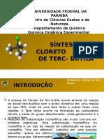 Química Orgânica Experimental- Síntese do cloreto de t- butila