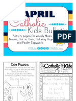 April 2016 Catholic Kids Bulletin