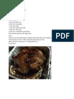 Ayam Panggang Black Pepper