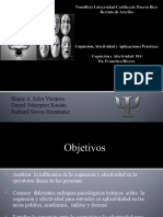 Cognicion, Afectividad y Aplicaciones Practicas(UNIDAD)