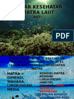 Dasar Kesehatan Matra Laut