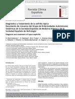 Diagnóstico y Tratamiento de La Nefritis Lúpica