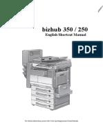 User Manual bizhub 350