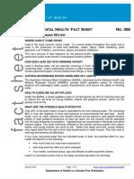 lead info sheet