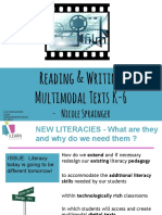 Multimodal Literacy - Reading & Viewing Multimodal Digital Texts in Prrimary