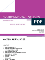 Evs Water Resources