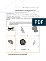 6. Evaluación Diagnóstica Tecnología Sexto
