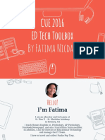 cue2016 ed tech toolbox