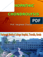 Idiopathic Chondrolysis