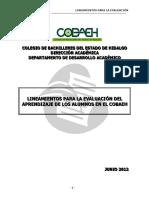 Evaluacion Aprendizaje COBAEH
