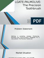 COLGATE-PALMOLIVE Precision Toothbrush