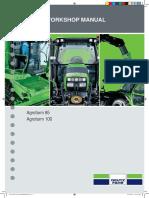 AGROFARM 85 100 Repair manual