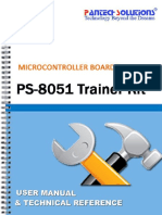 8051 Trainer Kit User and Technical Reference Manual