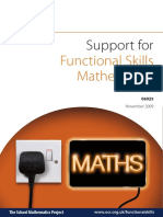 Teacher Support Material Functional Maths Level 2