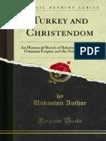 Turkey and Christendom