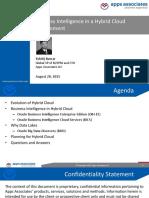 Live Webinar BI in Hybrid Cloud Environment