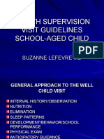 Health Supervision III Visit Guidelines-sl Revised