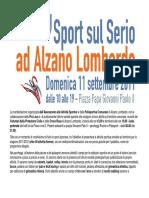 Presentazione Sport Sul Serio Ad Alzano 2011 Web