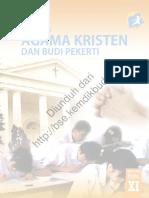 Pendidikan Agama Kristen Dan Budi Pekerti (Buku Siswa)