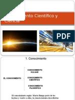 1 ConoCientifico y Ciencia