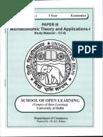 Paper 3 (Microeconomics)