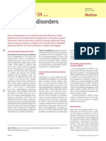 What's New in Respiratory Disorders