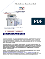filter air Tips Dan Trik Itu Semua Harus Sadar Dari