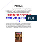 [FilmHD] Pattaya Télécharger Torrent French