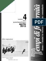 Rivista Aprile 2015