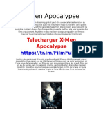 [FilmHD] X-Men Apocalypse Télécharger Torrent French