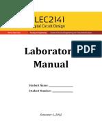 ELEC2141 Lab Manual