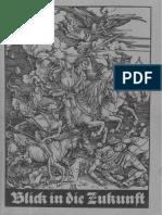 Adlmaier, C. - Blick in Die Zukunft - 3. Erweiterte Auflage (1961, 117 S., Text)