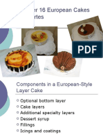 29376222 Chapter 16 European Cakes and Tortes
