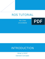 ROS Introductory Tutorial