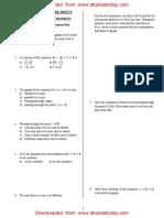 CBSE Class 9 Mathematics Revision Assignments