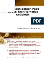 1. Kepekaan Bakteri Pada Infeksi Kulit Terhadap Antibiotik