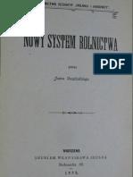 Jan Owsiński Nowy System Rolnictwa 1899