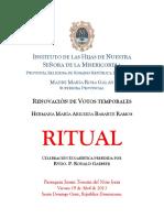 Ritual de Renovación de Votos
