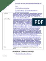 30 Day OTP Challenge Stucky