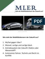 Daimler kauft Taxi-App - Wie sieht der Mobilitätskonzern Der Zukunft Aus